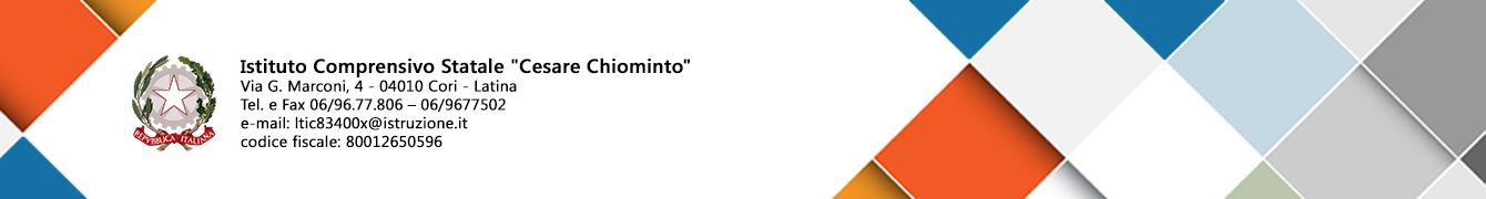 """Istituto Comprensivo Statale """"Cesare Chiominto"""""""